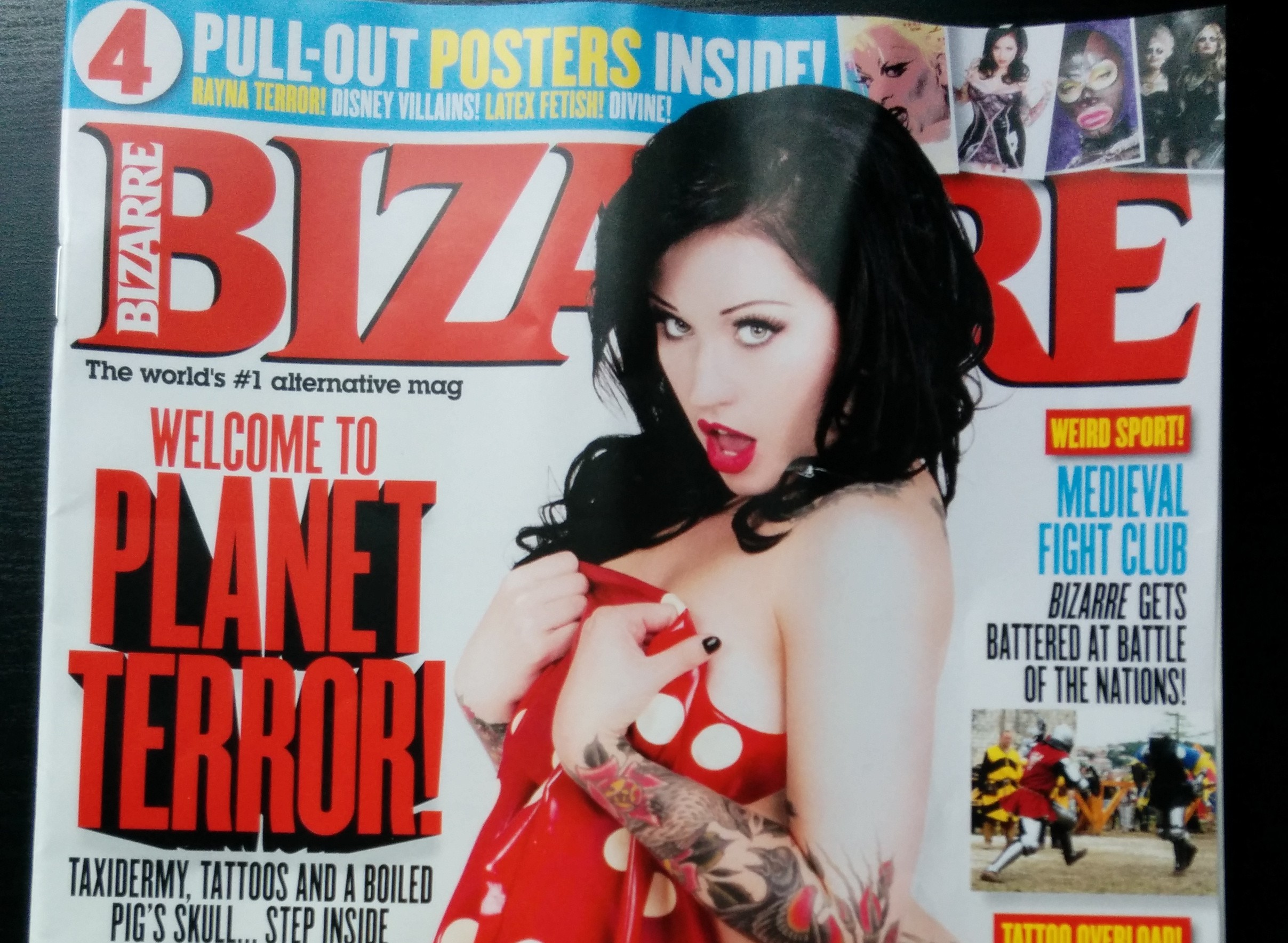 Battle of the Nations World Championship 2014, in Bizarre Magazine December Issue